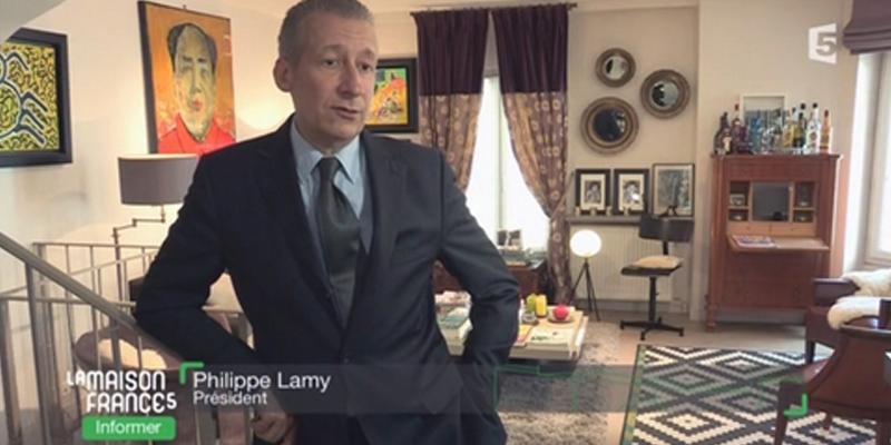 Le phénomène d'humidité expliqué par Philippe Lamy pour La Maison France 5