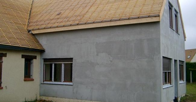 Agrandissement Maison Fissures