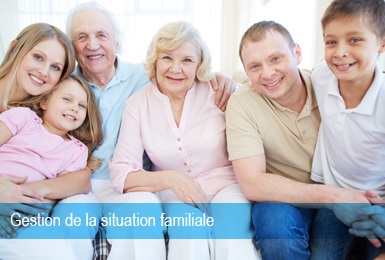 Gestion Situation Familiale
