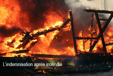 Indemnisation Incendie